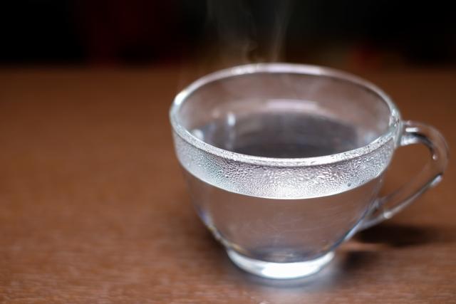 カップを温める